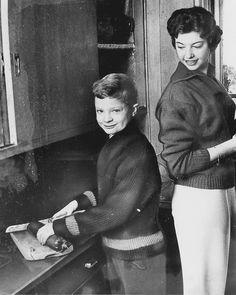 royalwatcher:  Prince (now King) Carl Gustaf with his older sister Princess Désirée