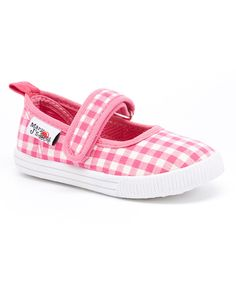This Mary J's Pink Gingham Mary Jane by Mary J's is perfect! #zulilyfinds
