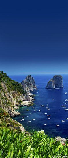Deep Sea Blue, Capri, (Italy)