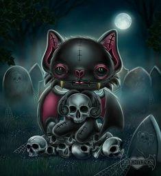Emo Kunst, Gothic Kunst, Arte Horror, Horror Art, Emo Art, Goth Art, Cartoon Kunst, Cartoon Art, Halloween Pictures