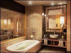 Cool, Elegant, Kleines Bad Mit Einfachen Waschbecken Set Badezimmer Ein  Winziges Badezimmer Entwickelt Einige Design Schwierigkeiten.