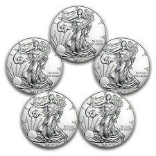 [$100.40 save 20%] 2017 1 oz Silver American Eagle Coins BU - 5 Coin Lot #LavaHot http://www.lavahotdeals.com/us/cheap/2017-1-oz-silver-american-eagle-coins-bu/187979?utm_source=pinterest&utm_medium=rss&utm_campaign=at_lavahotdealsus