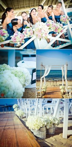 Nantucket Wedding from Soiree Floral + LifeFusion Studios | Style Me Pretty
