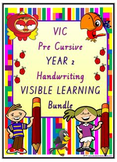 Focus upon the formative assessment process. Students use resources to self-evaluate handwriting for legibility. Has Learning Intentions - Success Criteria. Visible Learning, Success Criteria, Learning Goals, Letter Formation, Formative Assessment, Handwriting Practice, Year 2, Cursive, Classroom Management