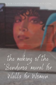 One of the biggest and boldest murals in our Walls for Women Mural Festival in Tennessee is definitely the Senderos Mural. Find out what went into creating the Senderos mural in Maryville, Tennessee, and check out the finished project. | Camels & Chocolate #mural #wallsforwomen #tennessee #maryville #streetart #muralfestival Usa Travel Guide, Travel Usa, Travel Guides, Travel Tips, Maryville Tennessee, University Of Tennessee, Camels, Chicago Illinois, Best Cities