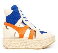 Jean Paul Gaultier 'Baskets Sur Bloc' Espadrillesgaultier1