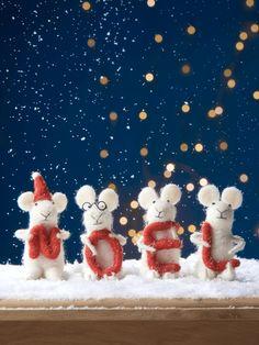 Felt Noel Mice