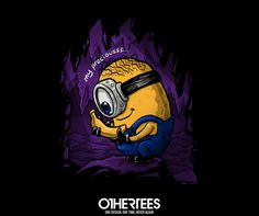 """My Precious"" by gonenlisalih T-shirts, Tank Tops, V-necks, Sweatshirts and Hoodies are on sale until June 13th at www.OtherTees.com #minions #minion #DespicableMe #lotr #lordoftherings #parody #OtherTees #banana"