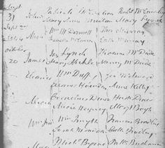 Records now available online for early Irish Catholic Church Parishes for baptisms and marriages.