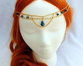 Medieval Maiden Circlet Head Piece,