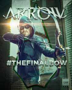 Forever the hero of Star City. The series finale event begins tonight at Arrow Cw, Team Arrow, Arrow Serie, Arrow Memes, Marvel Dc Movies, Stephen Amell Arrow, Univers Dc, Infinite Earths, Harry Potter Pictures