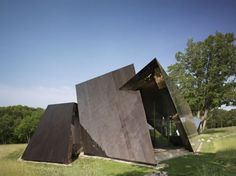 I'm not a fan of the interior but the exterior is cool ...18.36.54 House by Daniel Libeskind.