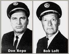 """""""Ghosts of Flight 401."""" On December of 1972, an Eastern Airlines Tri-Star jetliner, Flight 401, crashed into a Florida swamp. The pilot, Bob Loft and flight engineer Don Repo were two of the 101 people who perished in the air crash. Not long after the crash, the ghosts of Loft and Repo were seen on more than twenty occasions by crew members on other Eastern Tri-Stars, especially those planes which had been fitted with parts salvaged from the Flight 401 wreckage."""
