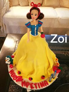 Wedding Cakes, Snow White, Disney Princess, Disney Characters, Wedding Gown Cakes, Wedding Cake, Snow White Pictures, Sleeping Beauty, Disney Princes