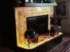 Onyx Fireplace.