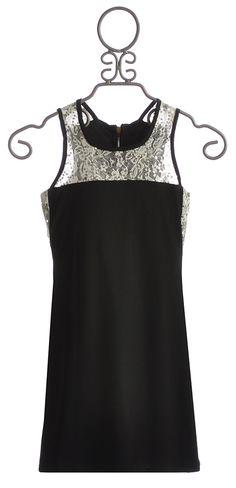Un Deux Trois Black Special Occasion Tween Dress $78.00