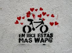 EN BICI ESTÁS MÁS WAP@ by ⌠david⌡, via Flickr