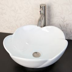 "15-3/8"" Flower Vessel Sink -maybe for the next bath renovation"