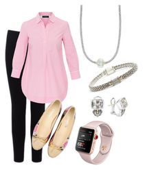 """""""Untitled #36"""" by wendywallbankwittmayer on Polyvore featuring Warehouse, Piazza Sempione, Chanel and Lagos"""