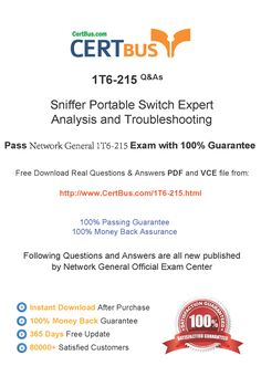 Candidate need to purchase the latest NetworkGeneral 1T6-215 Dumps with latest NetworkGeneral 1T6-215 Exam Questions. Here is a suggestion for you: Here you can find the latest NetworkGeneral 1T6-215 New Questions in their NetworkGeneral 1T6-215 PDF, NetworkGeneral 1T6-215 VCE and NetworkGeneral 1T6-215 braindumps. Their NetworkGeneral 1T6-215 exam dumps are with the latest NetworkGeneral 1T6-215 exam question. With NetworkGeneral 1T6-215 pdf dumps, you will be successful.