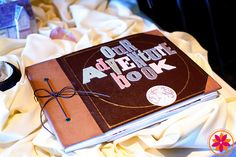Our Adventure Book perfect for a wedding album! Wedding Blog, Wedding Themes, Our Wedding, Wedding Gifts, Dream Wedding, Wedding Stuff, Quirky Wedding, Wedding Album, Disney Movie Up