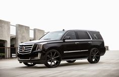 2015 Cadillac Escalade On 26-Inch DUB Baller Wheels... Luv ...