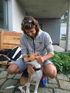 Peter Sagan and his dog Charlie. Bewonderaar van Sagan en nu die ook nog beagle lover is, nog meer :)