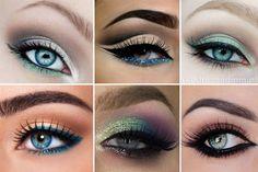 Dicas de maquiagens para olhos azuis!