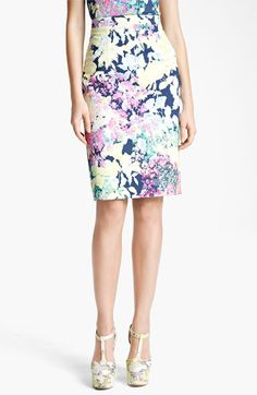 Erdem 'Imperial Rose' Print Pencil Skirt available at Nordstrom