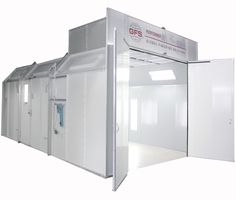 The Performer ES economy single-skin paint booth provide an affordable, reliable option for the value-minded shop owner