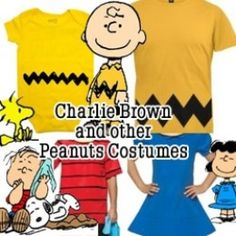Charlie Brown Costume (& Other Peanuts Characters)