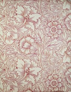 William Morris and Company. Wallpaper Sample Book, before Printed paper… Wallpaper Samples, Print Wallpaper, Fabric Wallpaper, Wallpaper Designs, William Morris Patterns, William Morris Art, Textile Patterns, Print Patterns, Textiles