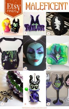 MALEFICENT ETSY FINDS RJC