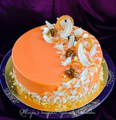 Fancy Desserts, Just Desserts, Delicious Desserts, Mousse Dessert, Mousse Cake, Gorgeous Cakes, Amazing Cakes, Frosting Recipes, Cake Recipes
