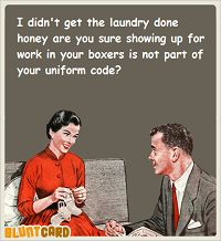 Never any compromise with this chore!!!