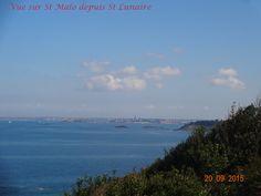 Vue sur Saint-Malo depuis St Lunaire Beach, Water, Outdoor, Gripe Water, Outdoors, The Beach, Beaches, Outdoor Games, The Great Outdoors