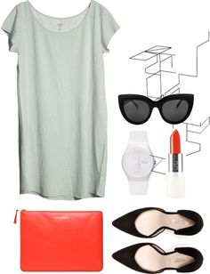 """Mint Kisses"" by raslett ❤ liked on Polyvore"