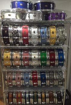 Slingerland 6 lug snare drum collection