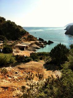 Cala d'en Serra, pescadores  #Ibizaplayas #Eivissa #pescadores