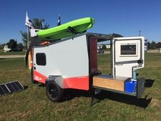 Tiger Moth Camping Trailer by Taxa, the people who brought us the Cricket