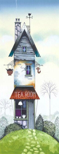 The Tea Room. Gary Walton