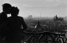"frenchvintagegallery:  ""  Bastille Lovers, Paris 1957  by Willy Ronis  """