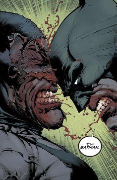Batman vs Bane - David Finch