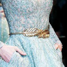 Hot-sale Leaves Buckle Elastic Dress Skirt Waist Belt - NewChic