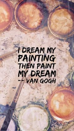 Van Gogh quote Lockscreen