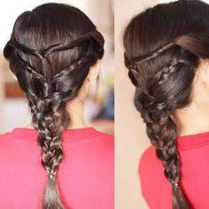 triple twists braid