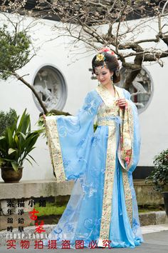 Aliexpress.com : Buy Tang suit hanfu female costume photo service from Reliable Chinese Folk Dance suppliers on Angel department store