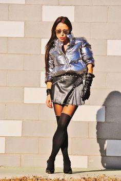 Futuristic Time - Puffer Jacket New post on my blog!! www.nekanet.com