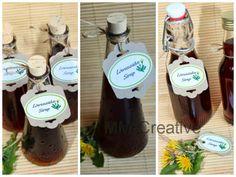 stampin u etiketten   ... : Löwenzahnsirup mit Rezept und…