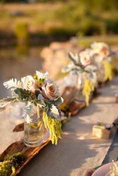Organic Chic table design: Utah Events by Design